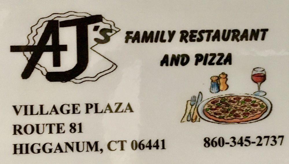A J's Pizza: 26 Killingworth Rd, Higganum, CT