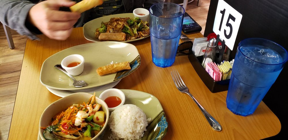 The Blue Rat Thai kitchen: 608 Main St, Garland, TX
