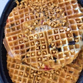 Photo Of Waffle House   Elkton, MD, United States. Blueberry Waffle With  Peanut