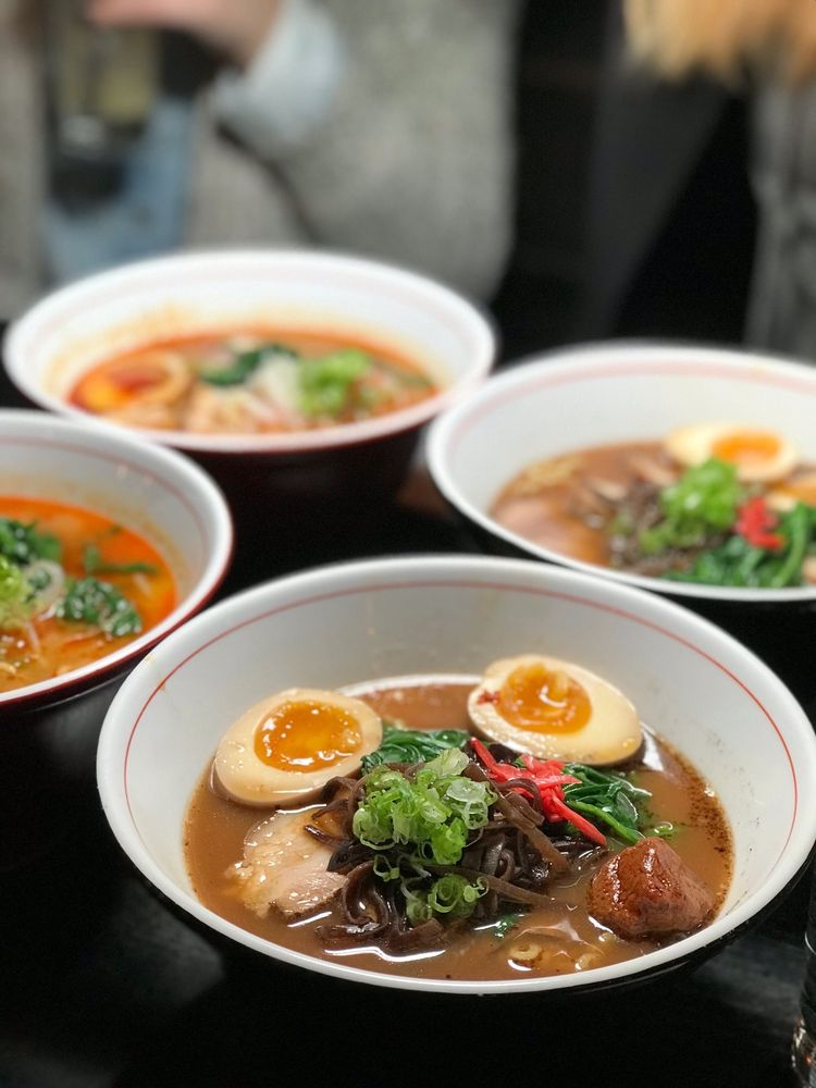 Food from Ani Ramen House