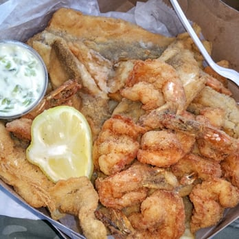 Photo Of Kevin S Seafood New Haven Ct United States Dinner Box