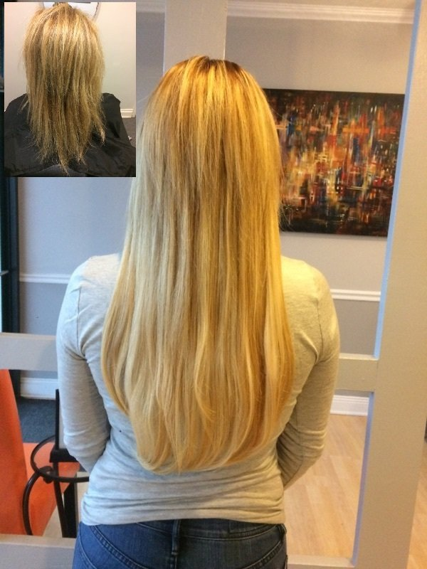 Nano Hair Extensions Using Hair Dreams Application About And Hour