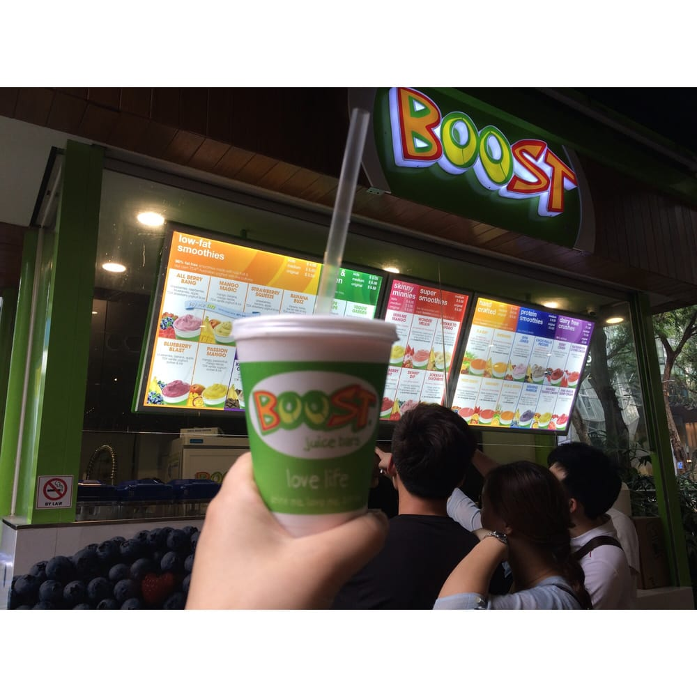 Boost Juice Bar Singapore