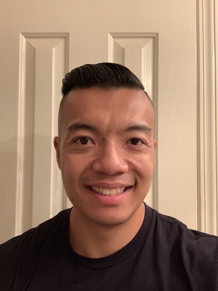 Zero to half high fade, undercut with a hard part - Yelp