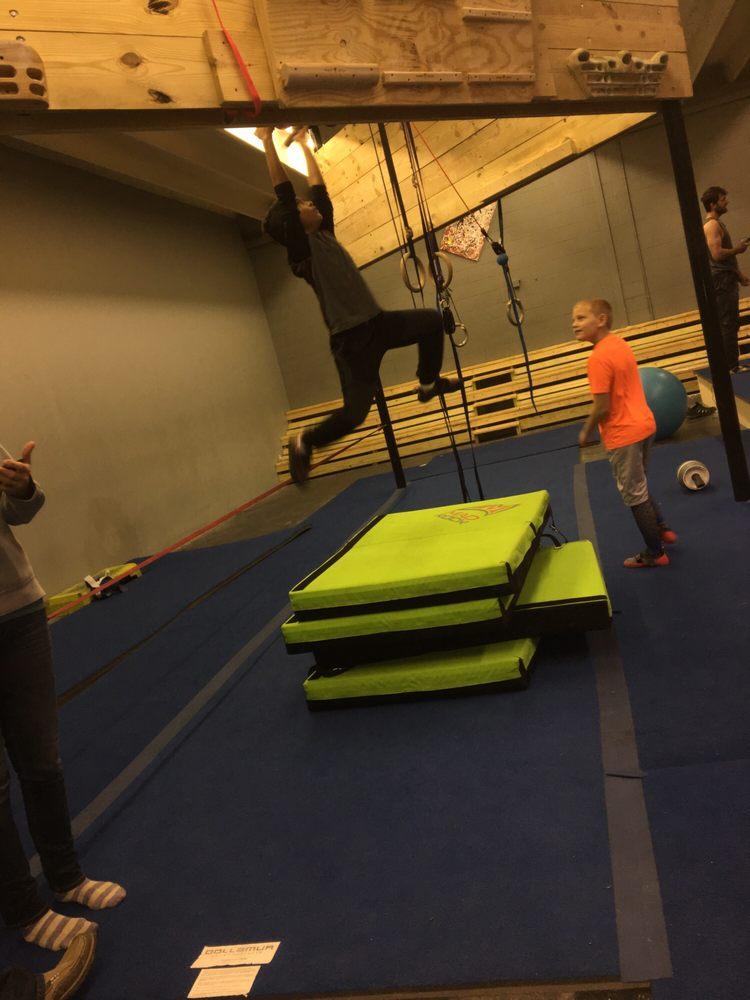 Gnarwall Bouldering Gym: 4685 Yadkinville Rd, Pfafftown, NC