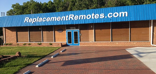 Replacement Remotes: 4945 Reynolda Rd, Winston Salem, NC