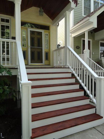 Front Porch Amp Stairs Redo Yelp