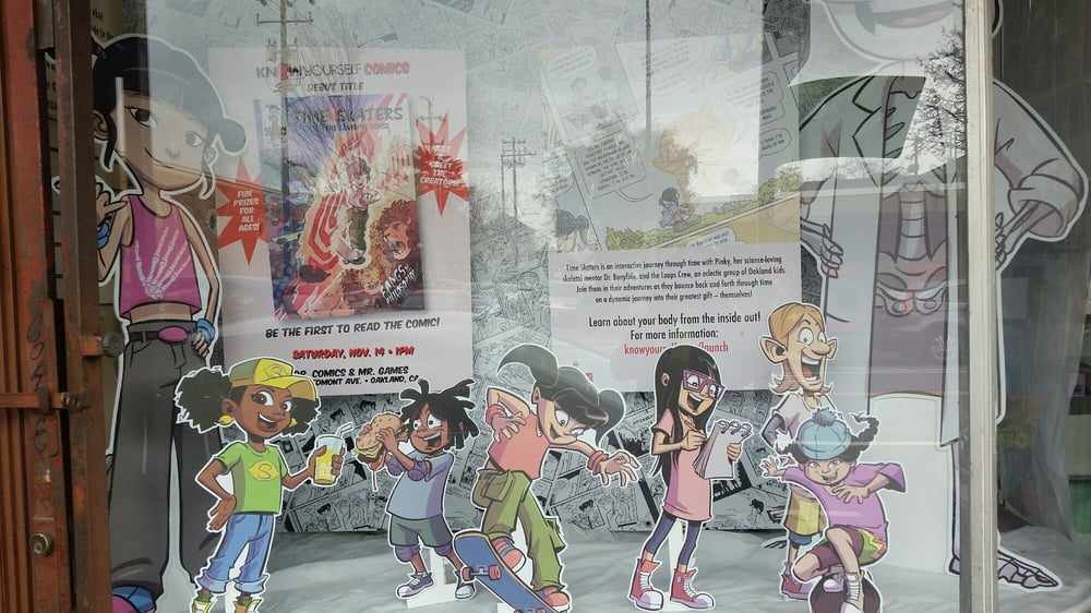 Dr Comics & Mr Games: 4014 Piedmont Ave, Oakland, CA