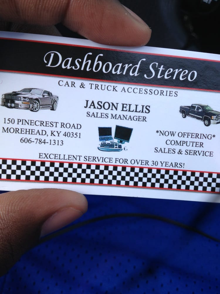 Dashboard Car Stereo of Morehead: 150 Pine Crest Rd, Morehead, KY