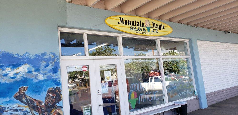 Mountain Magic Shave Ice: 84-1170 Farrington Hwy, Waianae, HI