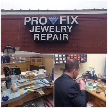 pro fix jewelry and watch repair jewelry repair 6080 s