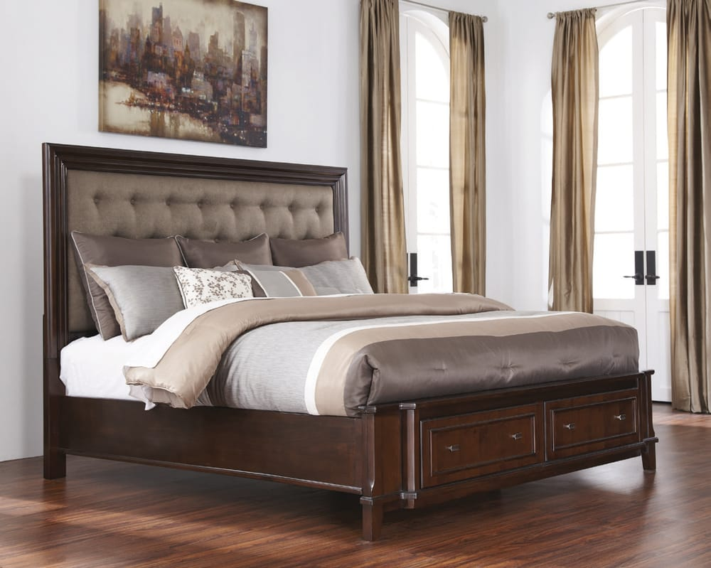 Ashley Furniture Homestore Photos Reviews Furniture - Ashley furniture store bedroom sets