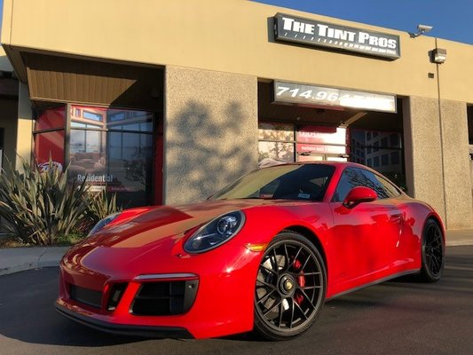 The Tint Pros 16582 Gothard St Huntington Beach Ca Gl Coating Tinting Mapquest