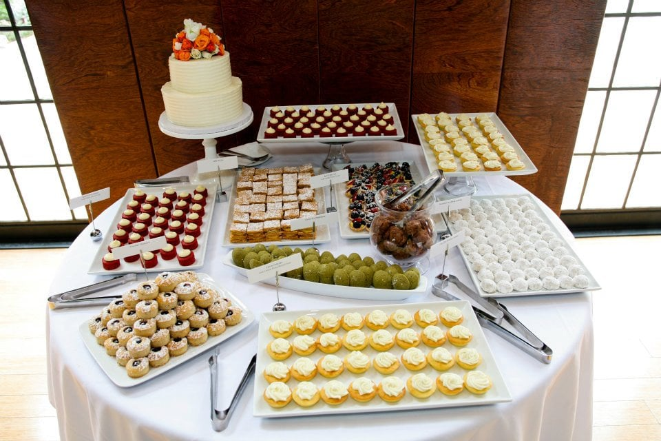 Sweetmue Catering Mini Desserts Station For My Wedding