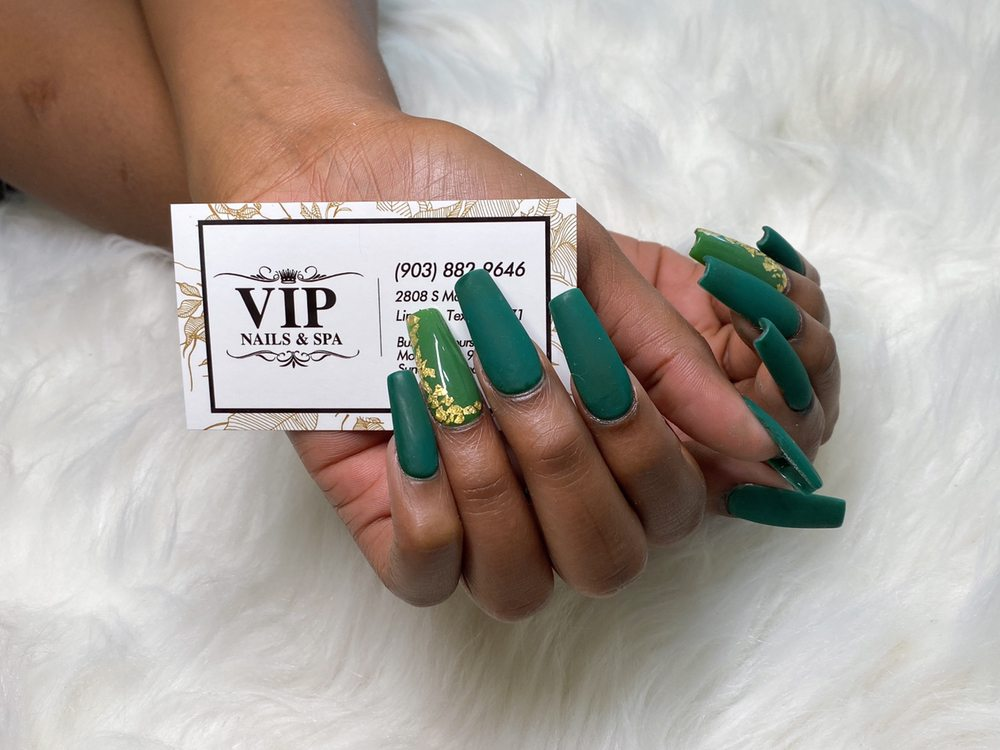 Vip Nails & Spa: 2808 S Main St, Lindale, TX