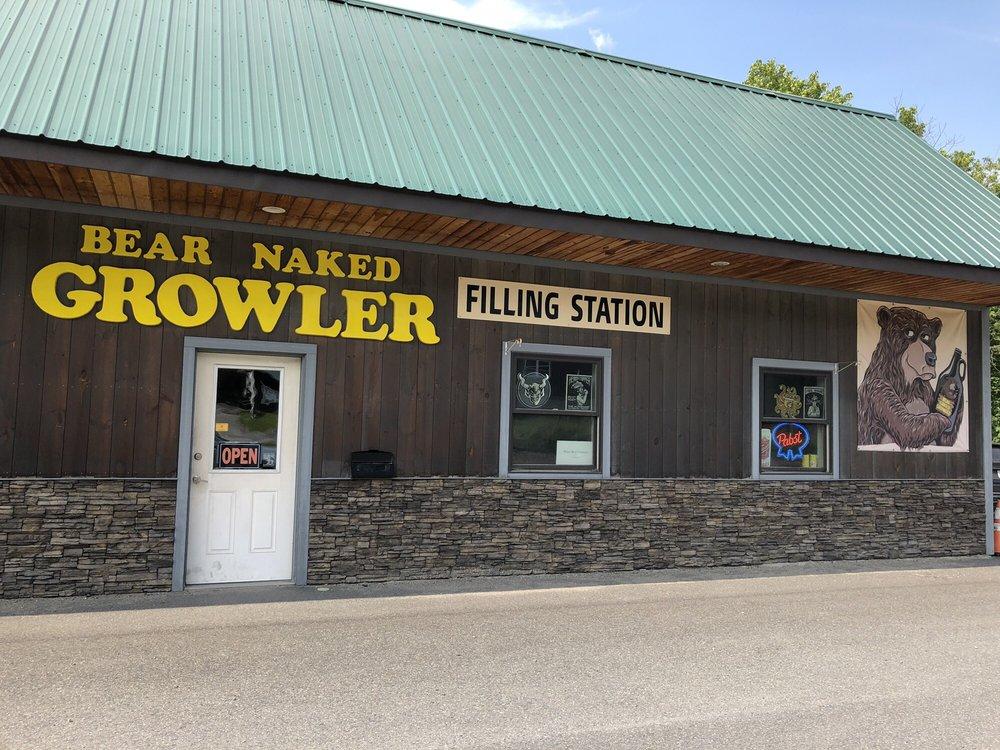 Bear Naked Growler: 186 River St, Montpelier, VT