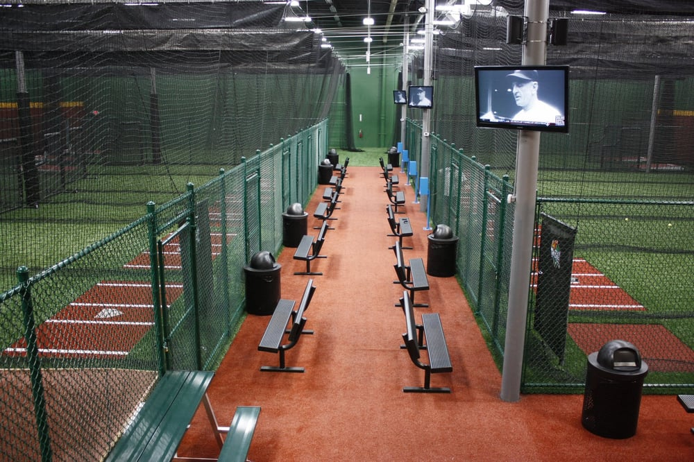 D bat allen sports clubs 505 century pkwy allen tx for Design indoor baseball facility