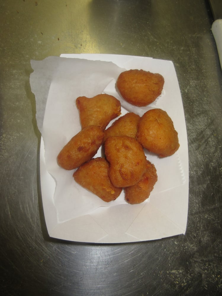 Fried mac and cheese bites yelp for Eastside fish fry lansing michigan