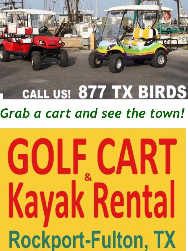 Harbor Carts: 215 N Fulton Beach Rd, Fulton, TX