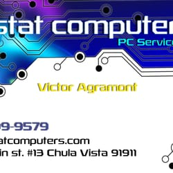 Stat computers it services computer repair 2244 main st photo of stat computers chula vista ca united states new business card reheart Choice Image