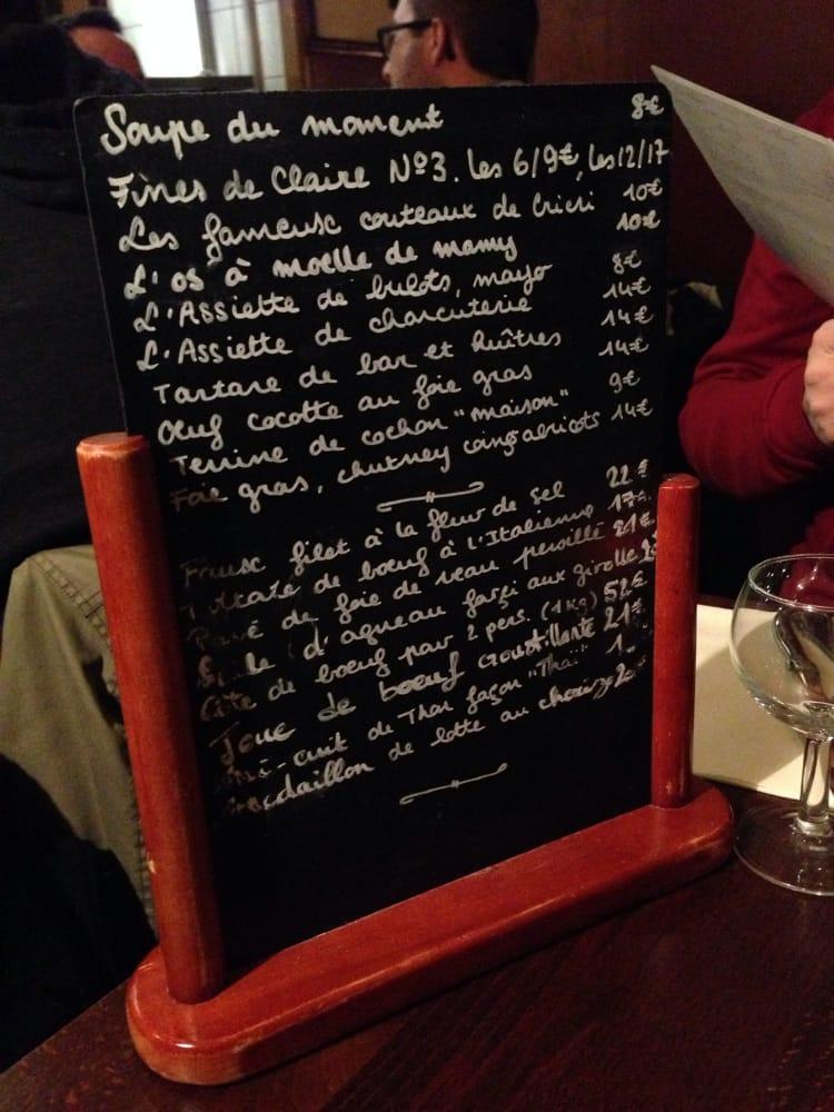 Chez mamy 20 photos 18 avis restaurant fran ais 3 rue jules vall s 11 me paris - Numero de telephone printemps haussmann ...