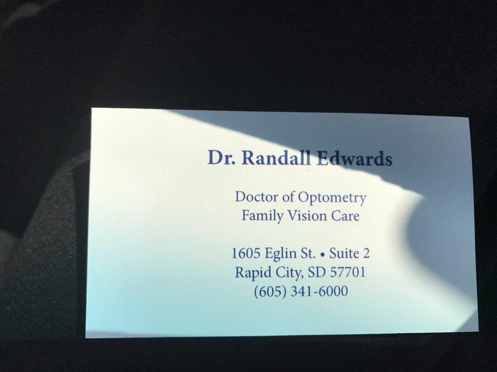 Randall L Edwards OD Dr - Optometrists - 1605 Eglin St, Rapid City ...