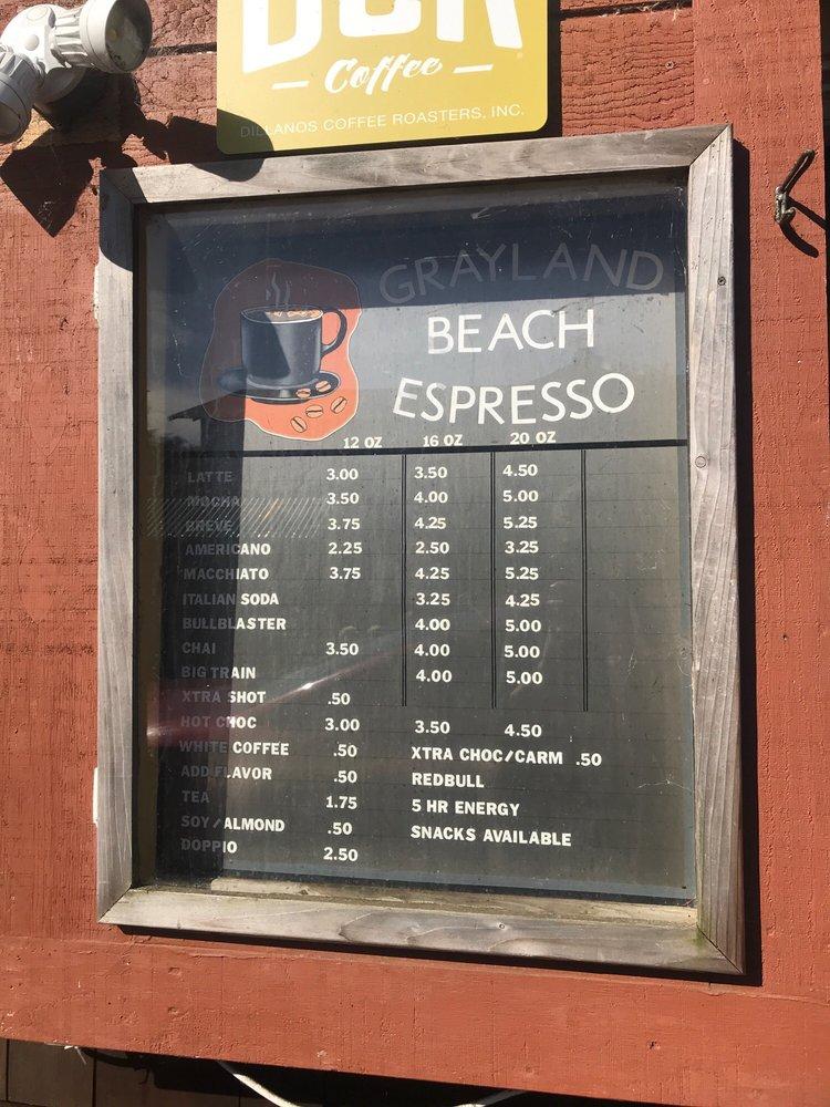 Grayland Beach Espresso: 2098 State Rt 105, Grayland, WA