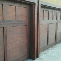 Delicieux Photo Of Garage Door Refinishing   La Mesa, CA, United States. After  Staining
