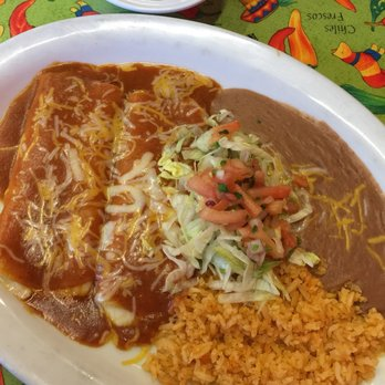 Photo Of El Mariachi Aiea Hi United States Cheese Enchiladas With Rice
