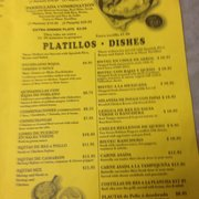 Portales Mexican Food Chicago Heights Il Menu