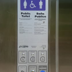 Bathroom Yelp piedmont park's robot bathroom - 22 reviews - local flavor - 10th