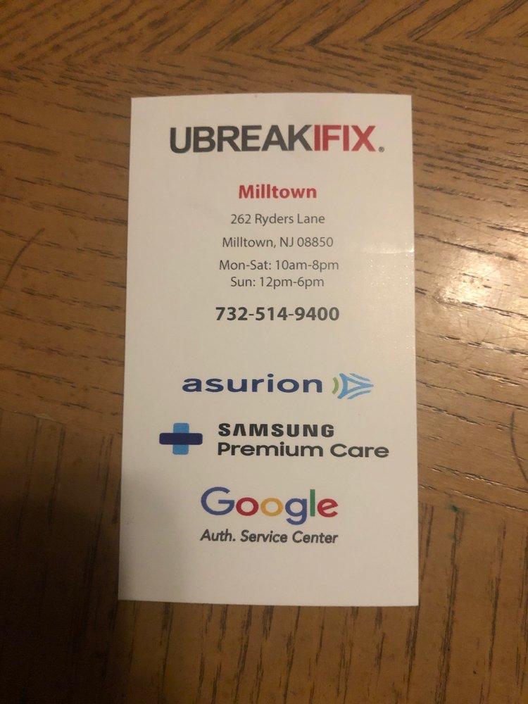 Ubreakifix: 262 Ryders Ln, Milltown, NJ