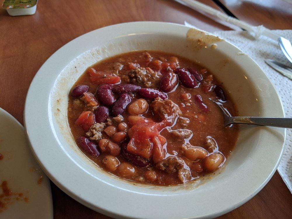 Food from Ponderosa Steakhouse