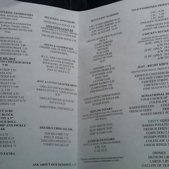 Kountry Kitchen Menu | Raynor S Seafood Restaurant Seafood 114 N 2nd St Immokalee