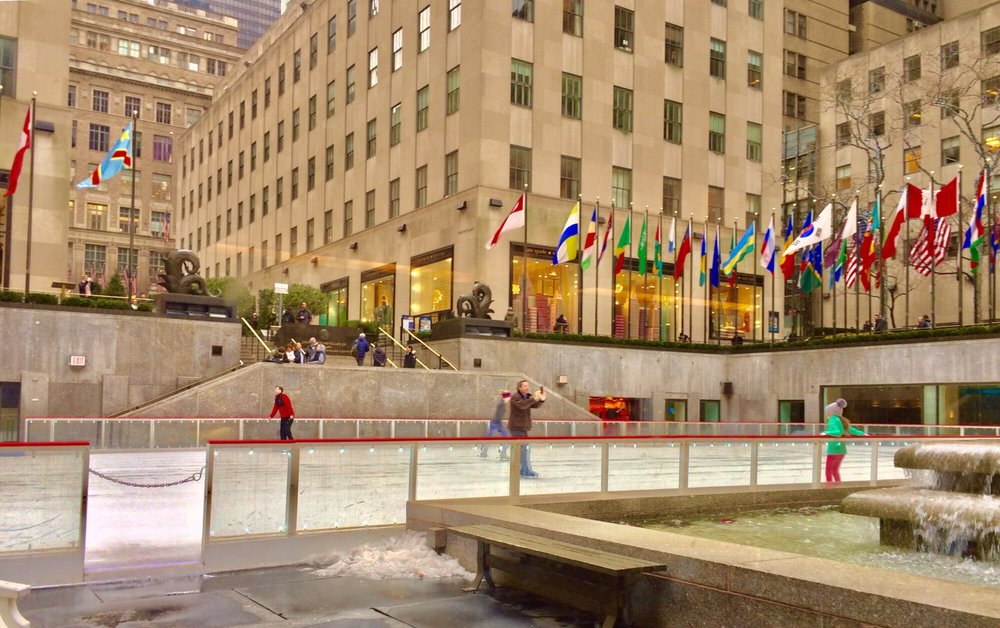 The Rink at Rockefeller Center: 600 5th Ave, New York, NY