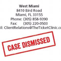 Ticket Clinic A Law Firm - Lawyers - 8410 Bird Rd, Miami, FL - Phone