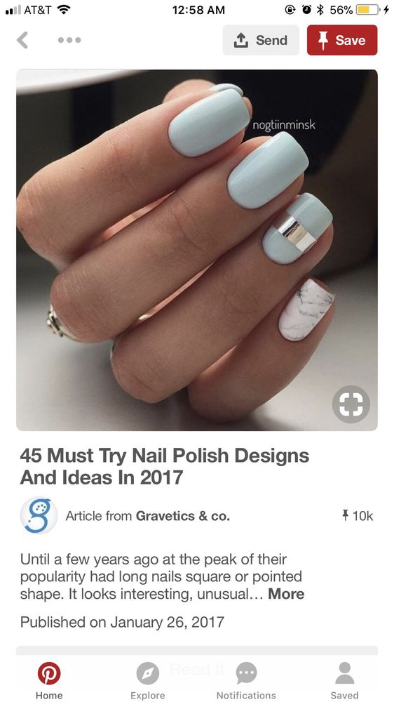 I wanted the marble design on my pinky finger but did not receive it ...
