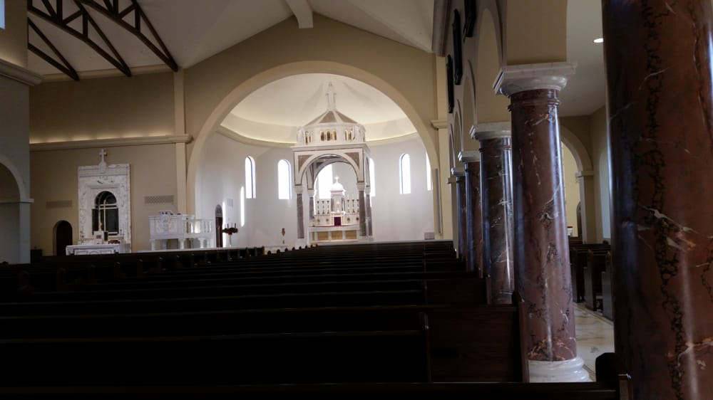 The Beautiful Interior Of The New Catholic Church In