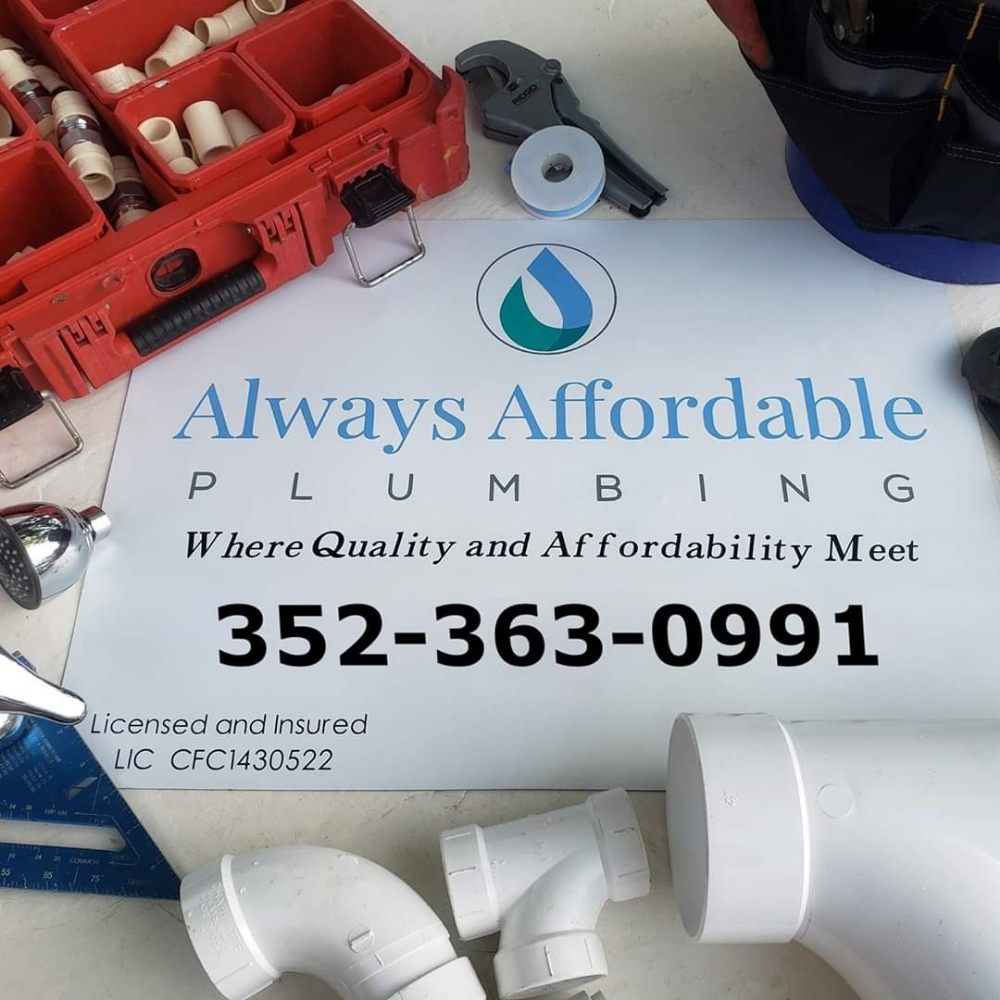 Always Affordable Plumbing: 1999 NW 165th Court Rd, Dunnellon, FL