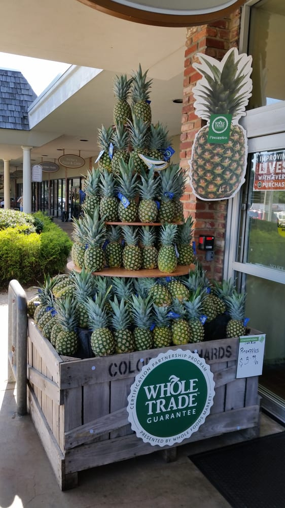 Whole Foods Market, Pineapple Display - Yelp