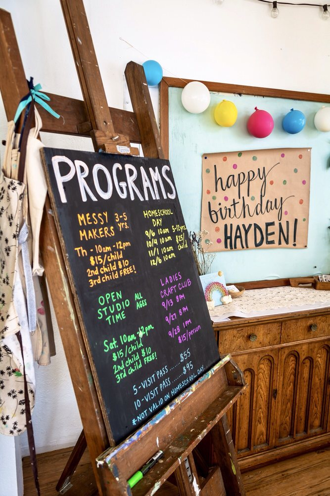 Messy Nessie's Studio: 628 2nd Ave, Crockett, CA