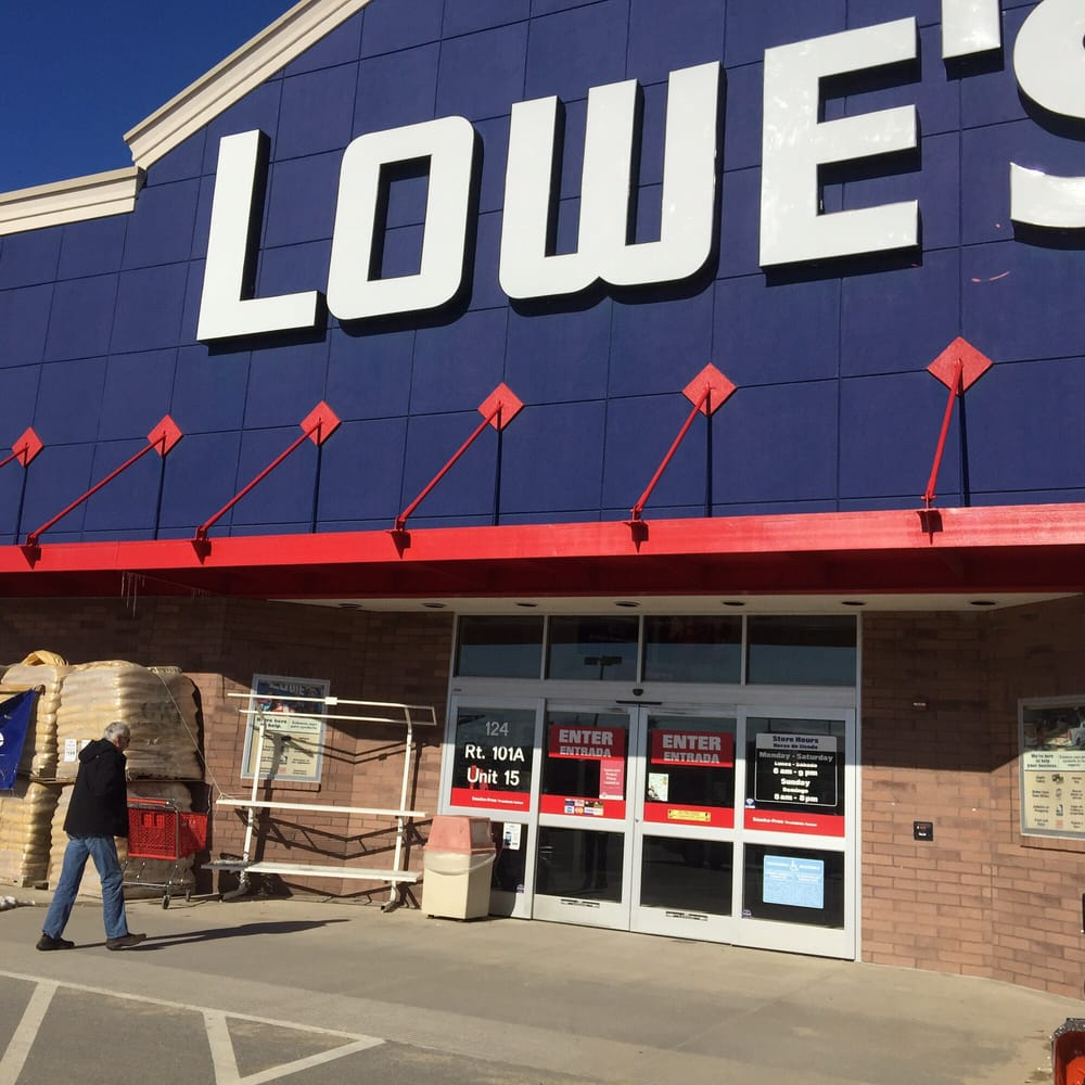 Lowe's: 124 Rt 101A, Amherst, NH