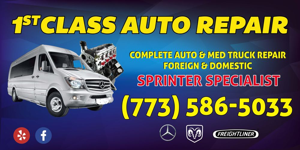 First Class Auto Repair: 6643 W 63rd St, Chicago, IL