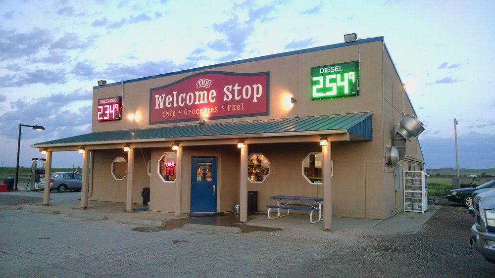Welcome Stop: Bainville, MT