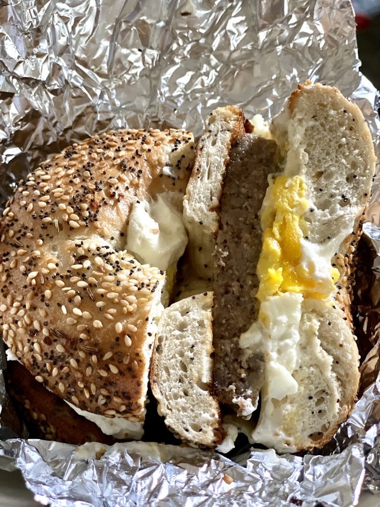 Food from Goodfella's Bagels
