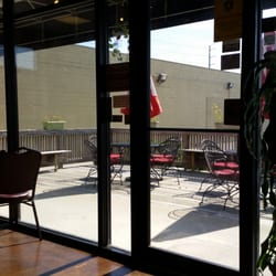 Photo Of Patio Grill   Galveston, TX, United States. Outdoor Patio With  Tables ...