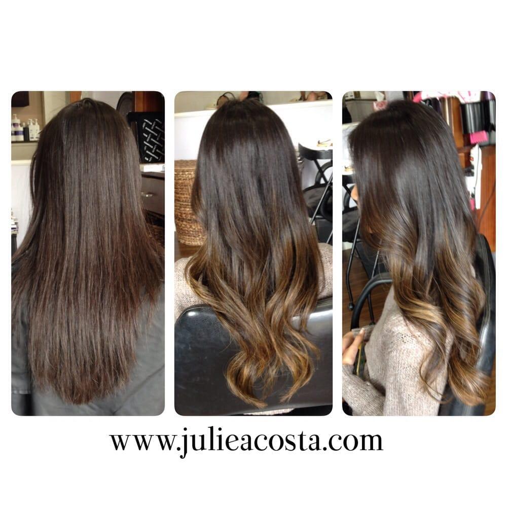 Fresh Balayage On Virgin Hair By Julie Yelp