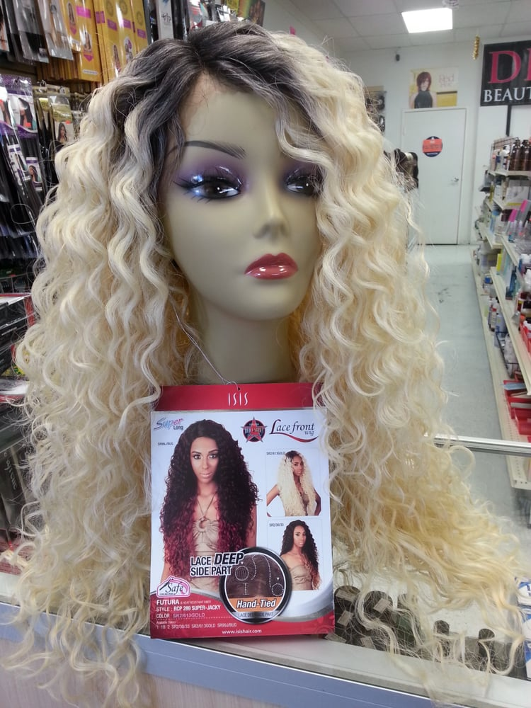 Isis Lace Front Wig Super Jacki Sr2 613gold 49 99 Lace Deep Side Part Hand Tied Yelp