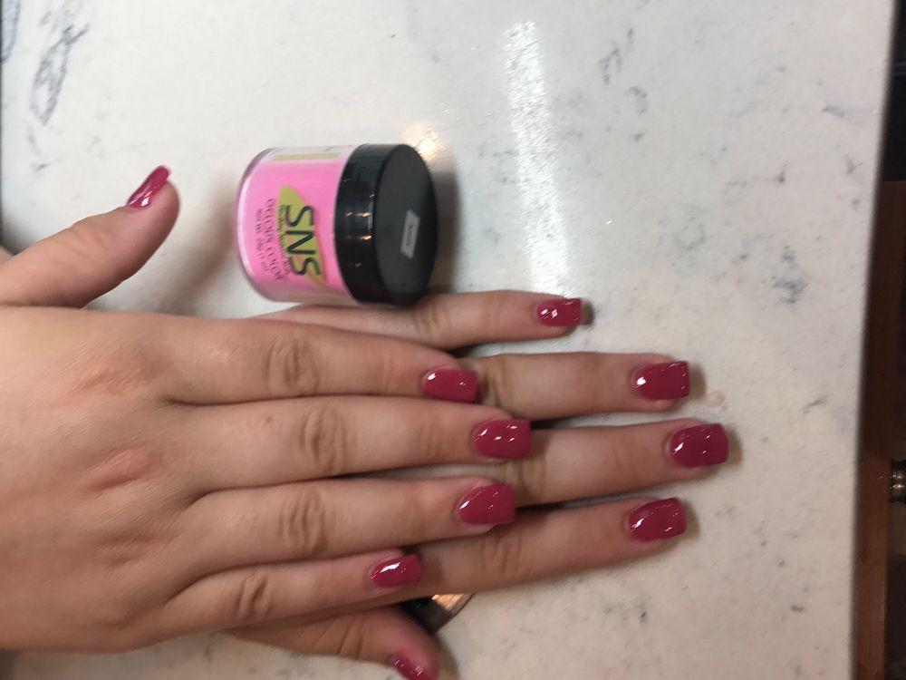Healthy natural nail extensions by Hannah - Yelp