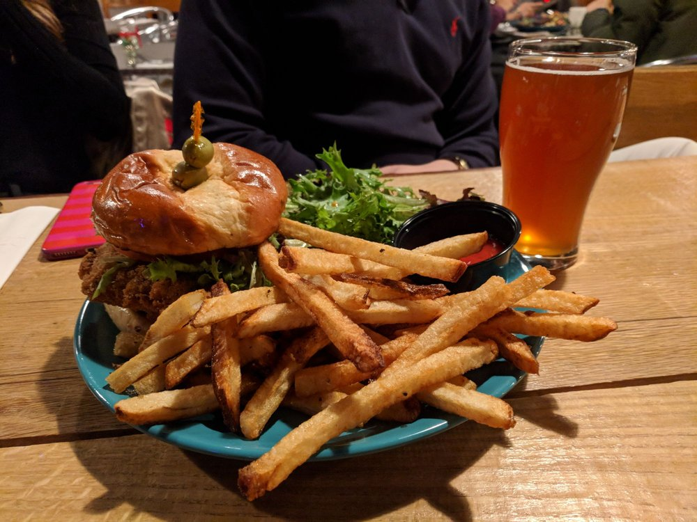 Food from Wasser Brewing Company
